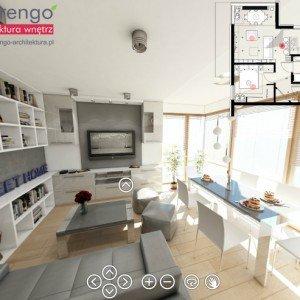 Projekty wnętrz mieszkań Kraków