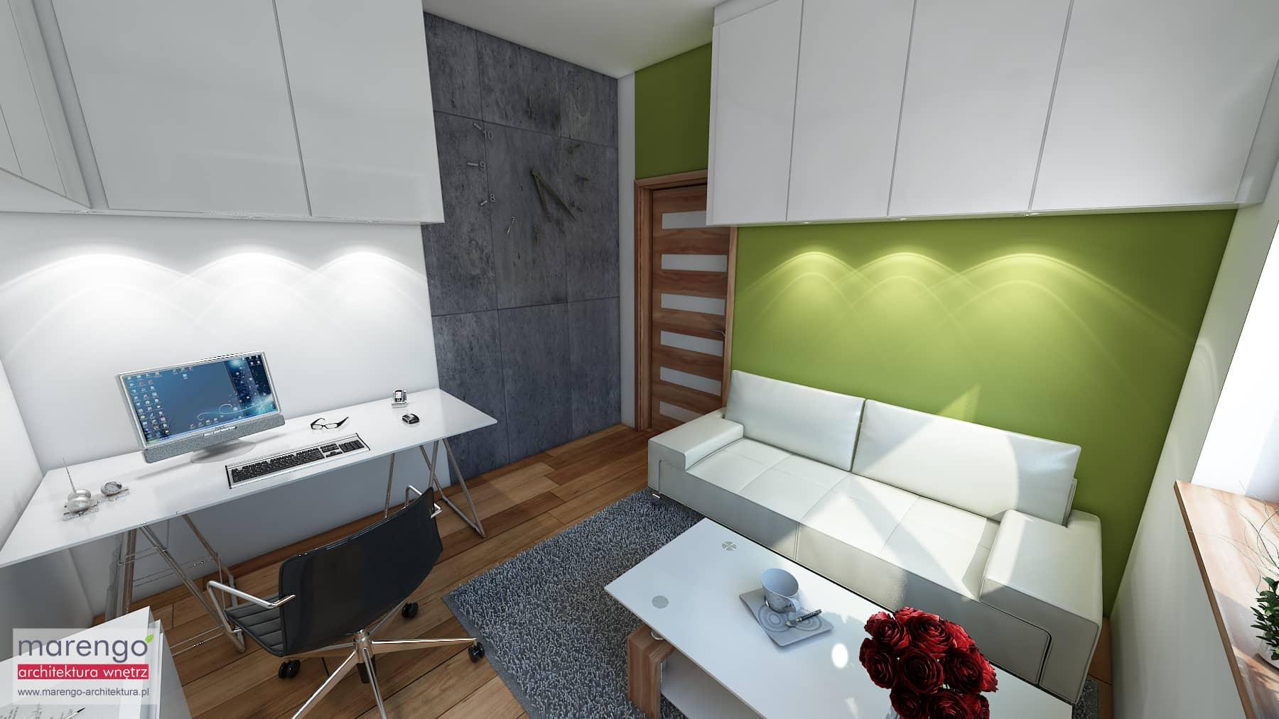 Pokój gościnny czy gabinet? Marengo Architektura