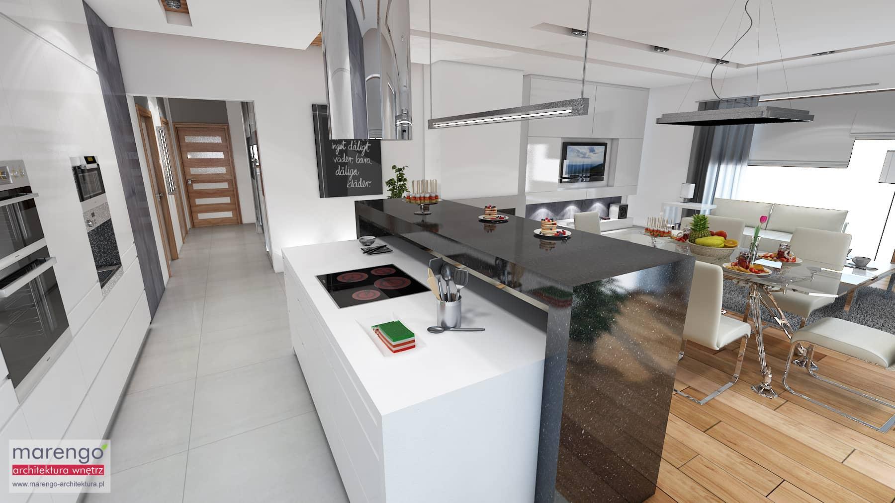Sprzęty AGD w kuchni CZ 1 projektowanie wnętrz Kraków -> Nowoczesna Kuchnia Najnowsze Trendy W Projektowaniu