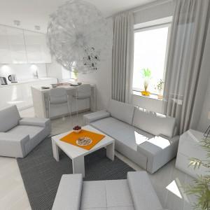 Mieszkanie w bieli- aranżacje wnętrz Kraków