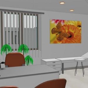 Przykład koncepcji wnętrza