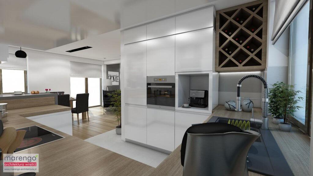 Projekt wnętrza kuchni Wrocław